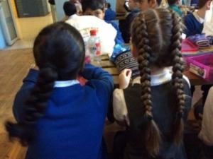 Linking girls lunch